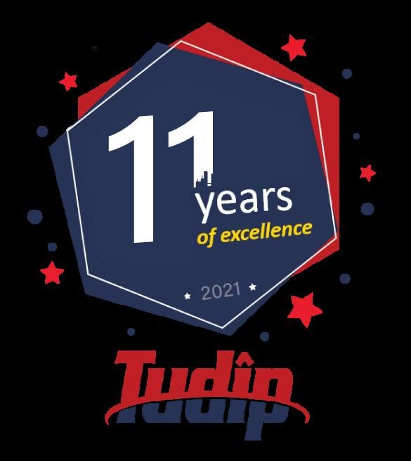 Tudip-11-years-logo-resized